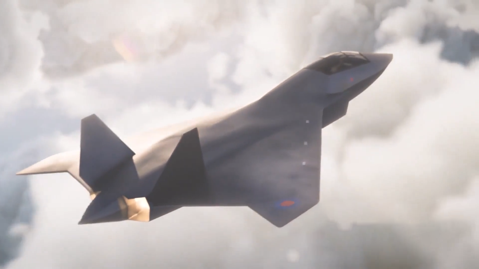 英国空军六代战机——暴风战斗机宣传片!