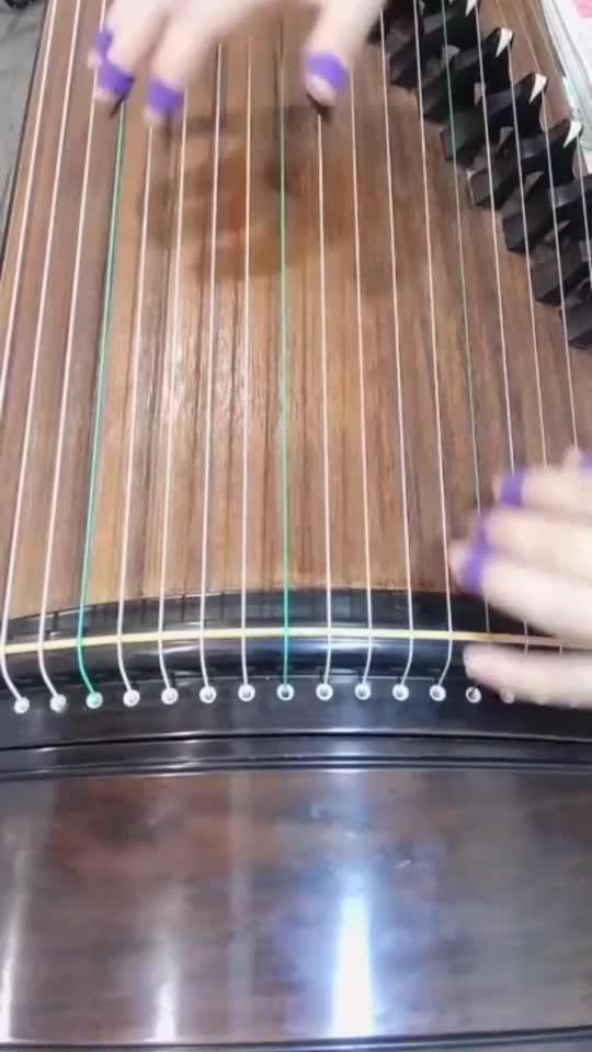 古筝教学雨碎江南,特别清晰简单的教程,弹奏出来真的蛮好听