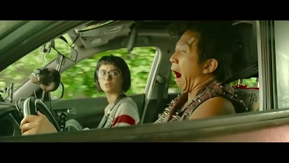 恶棍天使:邓超把孙俪整惨了,汽车副驾驶竟还有这功能!