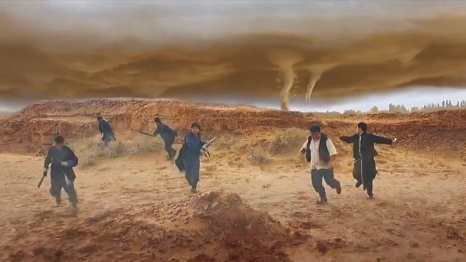 沙海龙卷风,狂沙飞舞在苍穹,人间崩落!