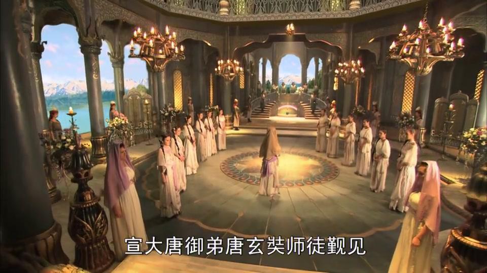 悟空带唐僧逃出女儿国,唐僧内心发生变化,竟放不下貌美的女王