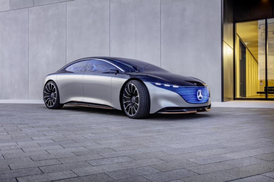 斯图加特VS硅谷!奔驰EQS能否力挑特斯拉Model S?