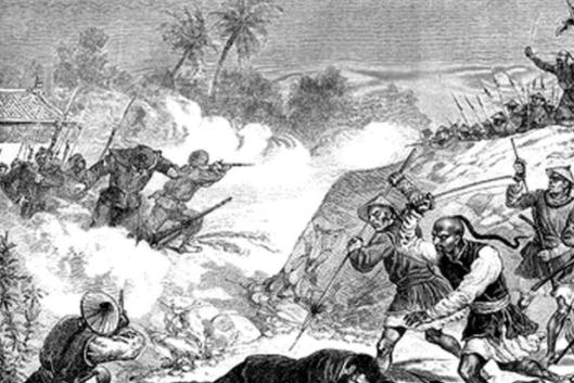 刘永福率领黑旗军抗击法军 为何成了李鸿章的眼中钉