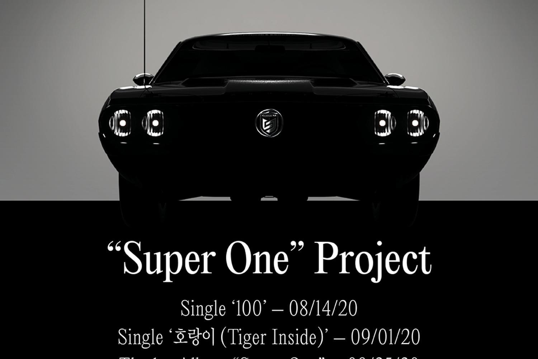 "SuperM首张正规专辑Project""Super One""正式启动!"