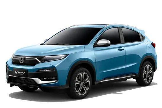 多种颜色可选,2021款东风本田XR-V活力十足