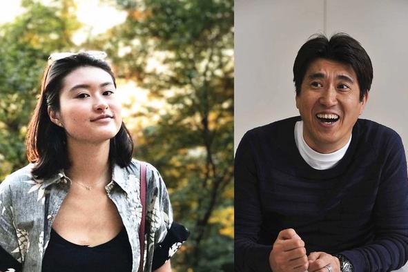 铃木保奈美21岁长女近照,像极了谐星老爸,被曝有意进娱乐圈发展