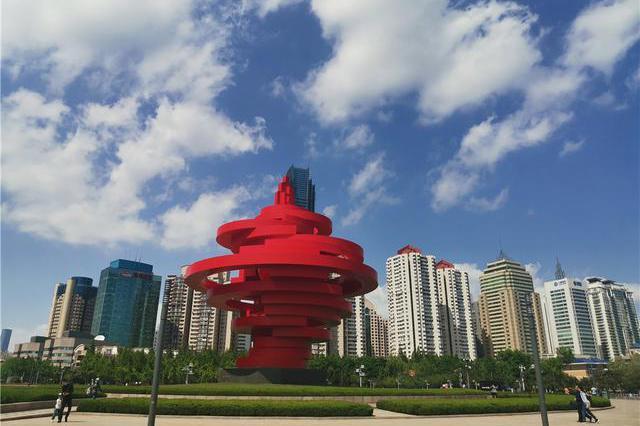 城市凝固音符,青岛海边雕塑等你来打卡!