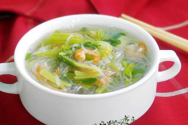 """这种蔬菜浑身都是""""宝"""",别把叶子扔了,加把虾米粉丝,清淡鲜香"""