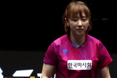 冷门不断!国乒21岁新星连扳3局大逆转,送韩国一姐一轮游