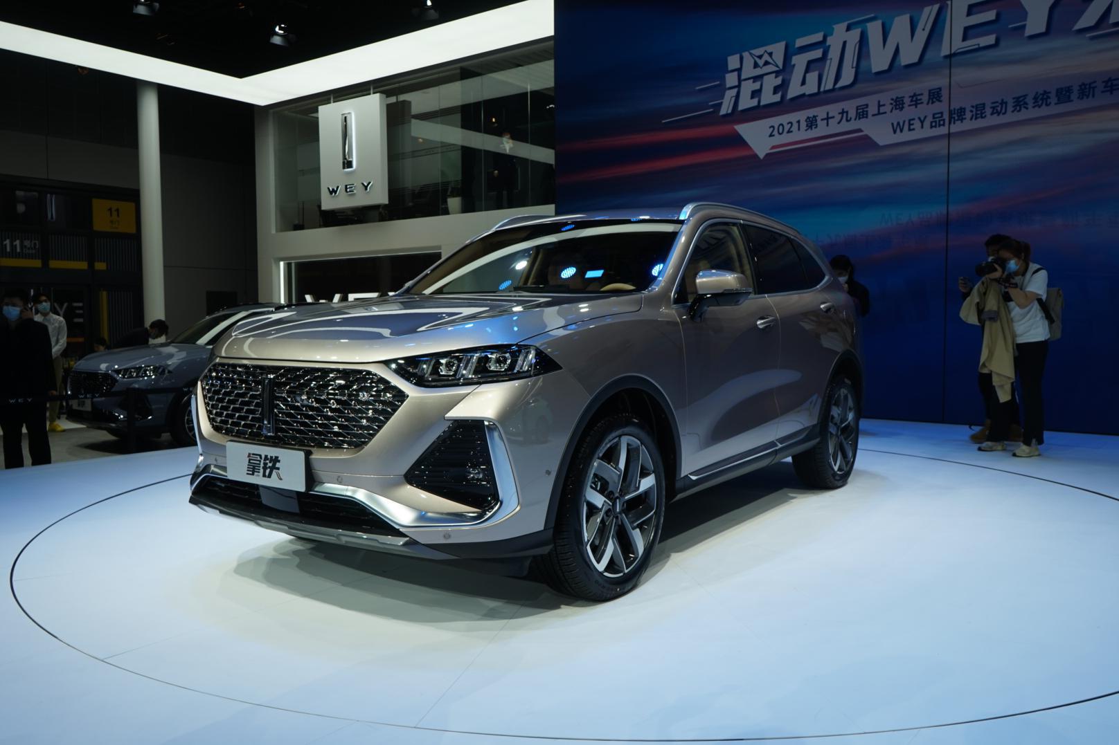 2021上海车展丨预计匹配全新9DCT变速箱 WEY品牌车型拿铁亮相
