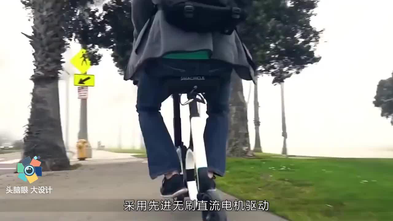 中国发明世界最小折叠电动车比摩拜单车还拉风千亿元市场