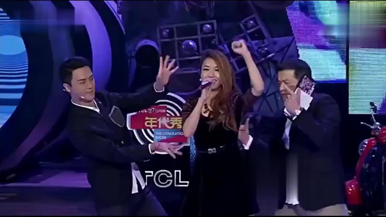 年代秀:王蓉演唱《我不是黄蓉》,欧哥刘晓虎为其伴舞,实力抢镜