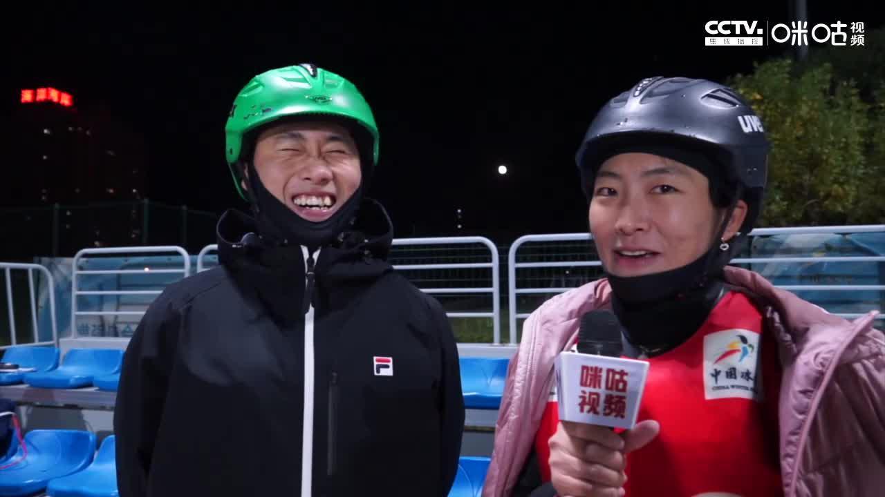 男女冠军!徐梦桃独家对话王心迪:男子决赛是国际赛大战