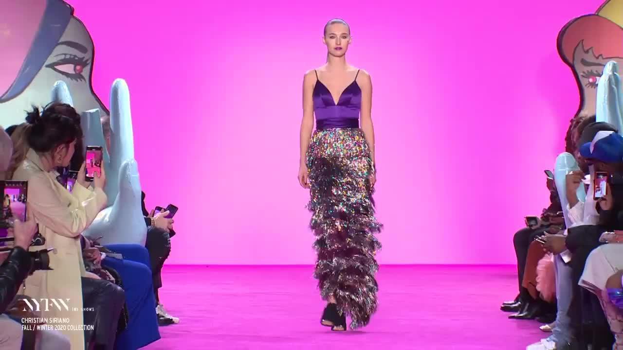 克里斯蒂安·西里亚诺2020秋冬纽约新款时装秀