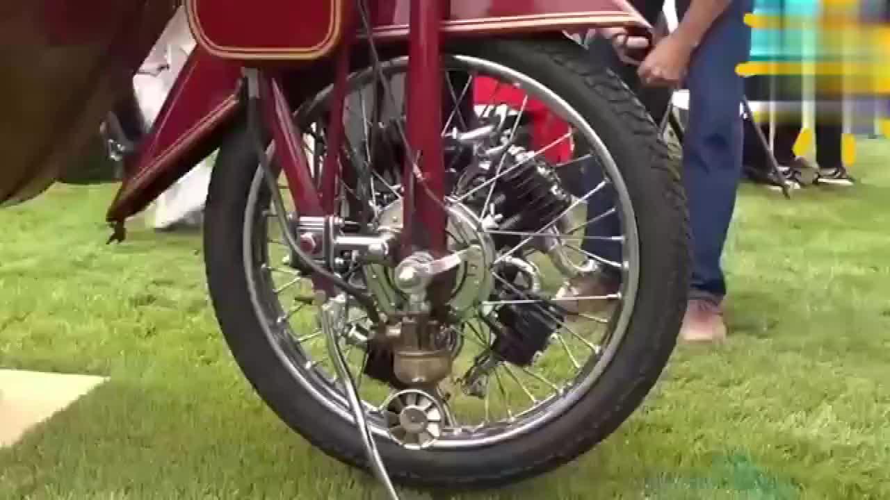 还是第一次见太子版前驱摩托车启动,长见识了!