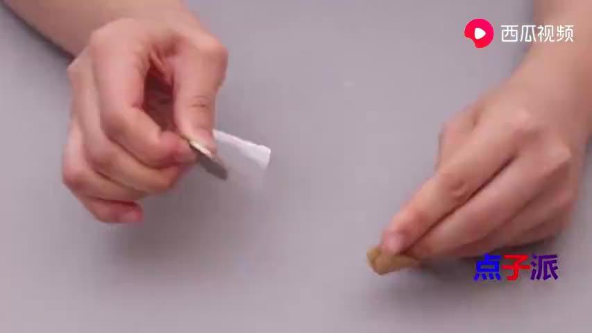 只需一枚硬币,穿针变的这么简单,又快又好零失误,真是太方便了
