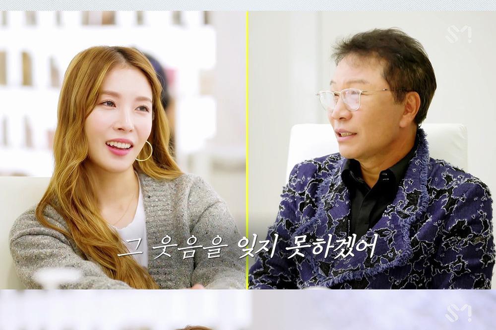 BoA出道20周年真人秀与李秀满总制作人展开默契对话!