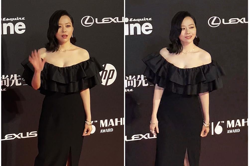 张靓颖不是才37岁吗 怎么老了这么多 你看她像不像闫妮和邓萃雯?