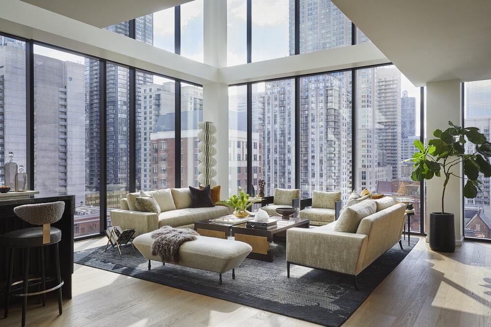 环球视野丨芝加哥杰出室内设计师,创造有灵魂的前瞻性空间