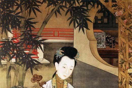 """北京故宫博物馆收藏的""""十二美人图"""""""