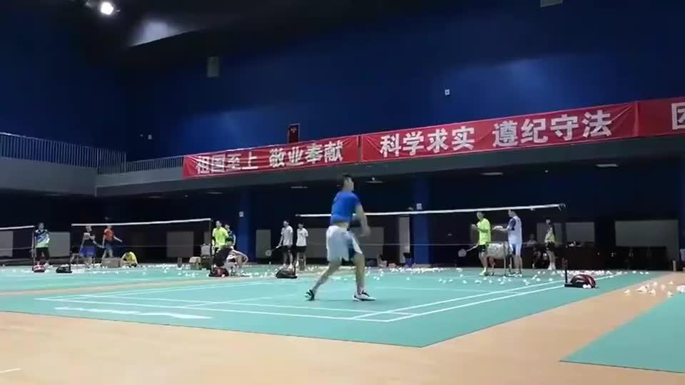 羽毛球:刘雨辰杀球训练,你能练这么长时间吗