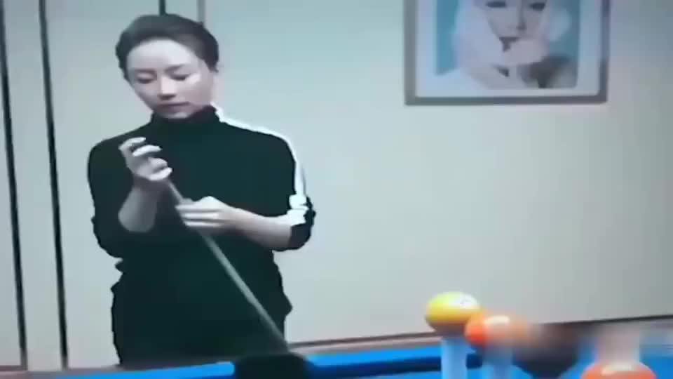 真正的台球大神,潘晓婷不愧是九球天后