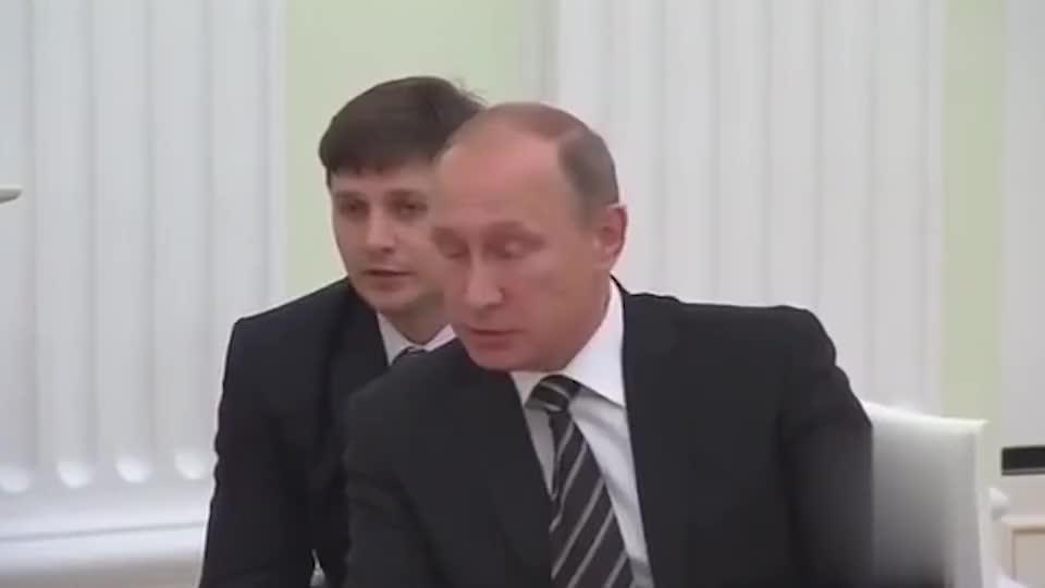 普京接见叙利亚领导人,普京:我说你听!巴沙尔:哦,好的大哥!