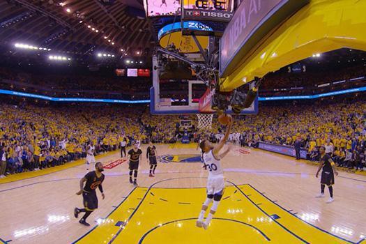 NBA复赛,Oculus提供VR直播观影