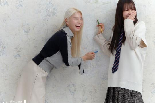 韩国女团MOMOLAND最新杂志写真曝光