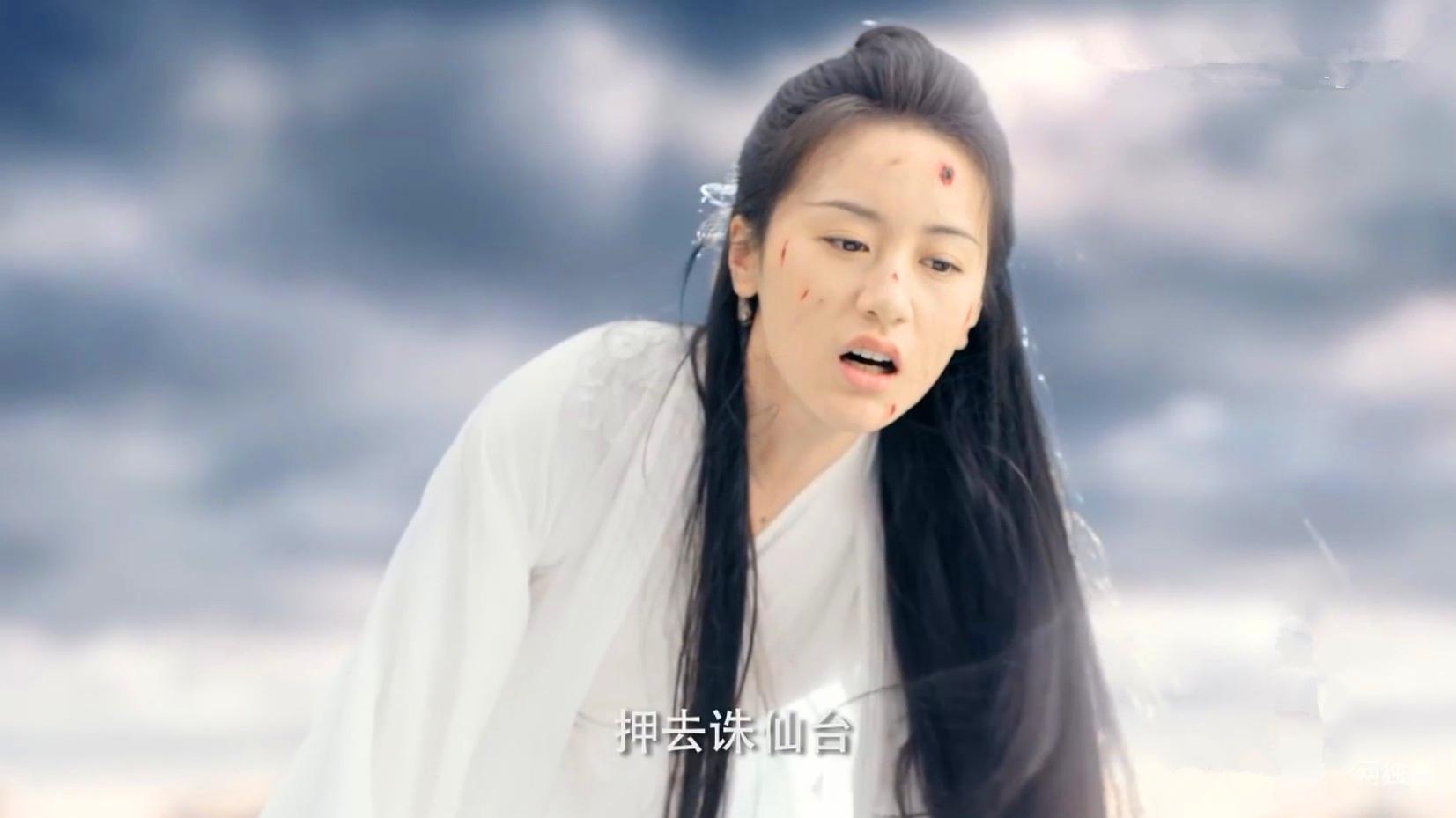司凤助璇玑恢复六识,被押去诛仙台灭元神,璇玑坠入魔道开打