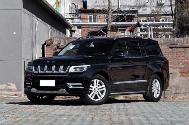 盘点四款高价国产SUV,最贵128万,北汽占两款
