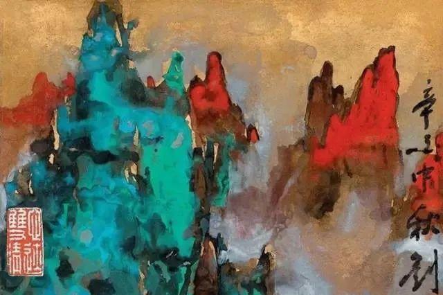 刘海粟,为画作爬黄山十次,黄山系列画作的代表人物,值得敬佩