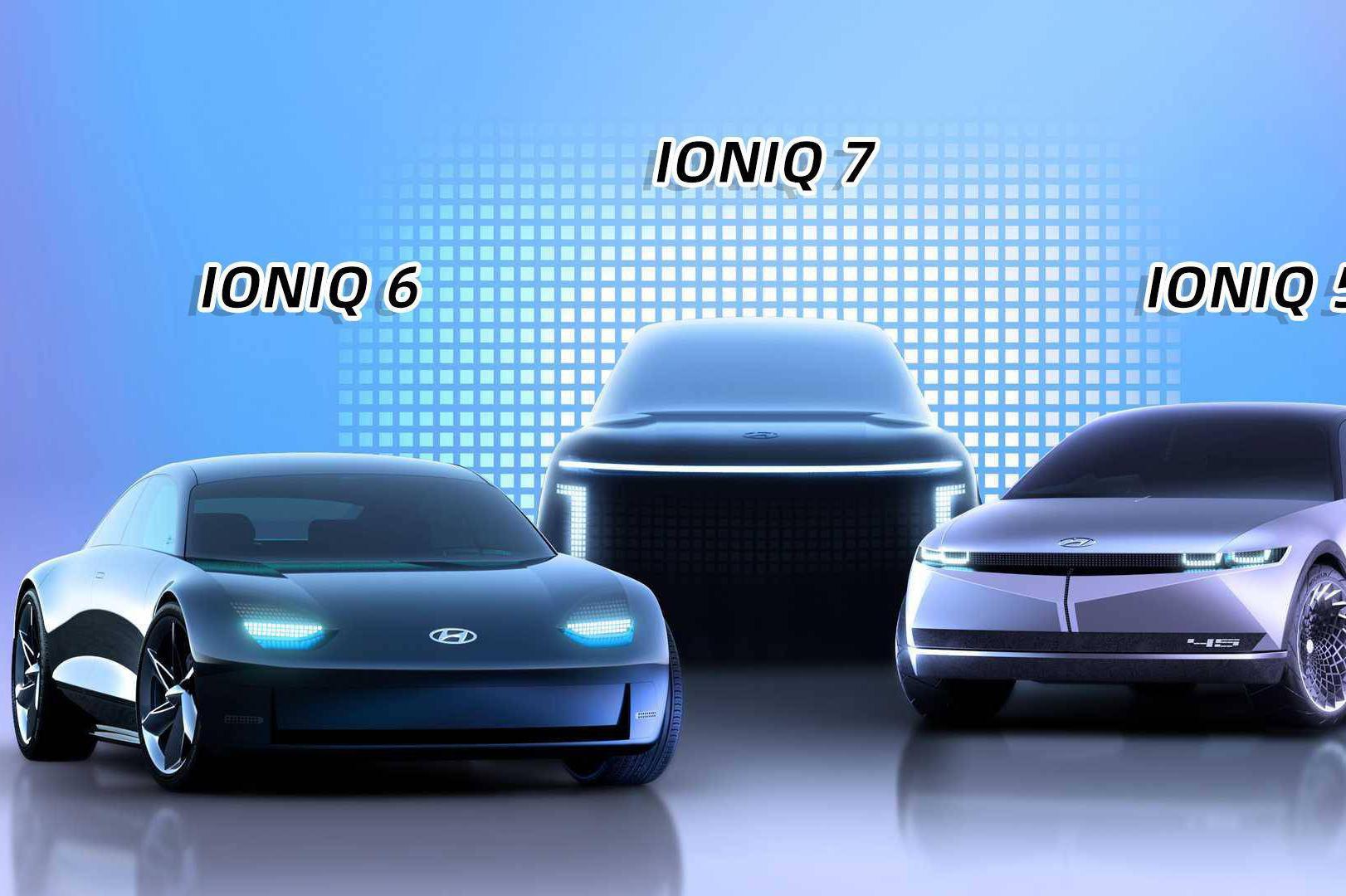 专注纯电动领域?现代发布IONIQ品牌有何深意