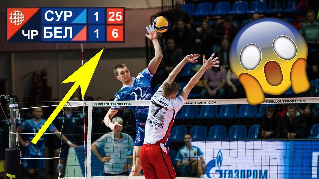像打假球么?俄超男排联赛单局6:25被摁在地上摩擦!