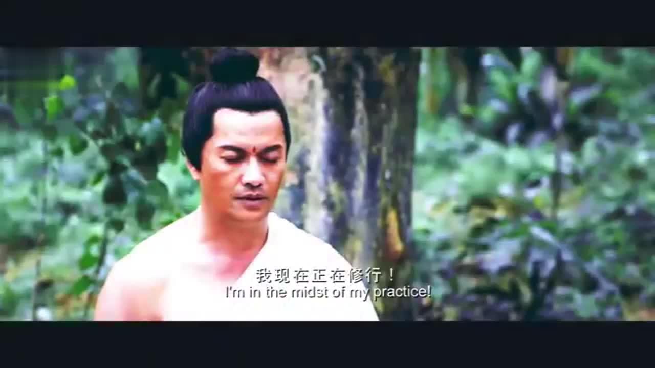 影视:释迦牟尼菩提树下证道,妖魔前来骚扰