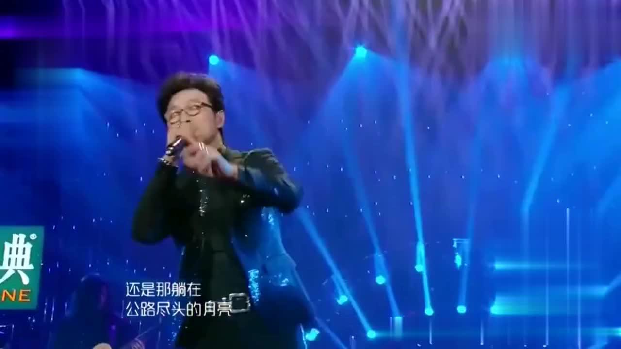汪峰一曲《无处安放》,为妻挑战高难度,深情催人泪下!