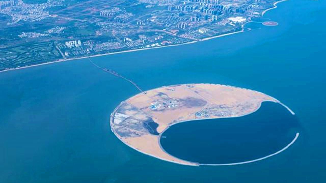 """中国建设全球""""最大""""人工岛,坐落于南海,海上城市将要登场!"""
