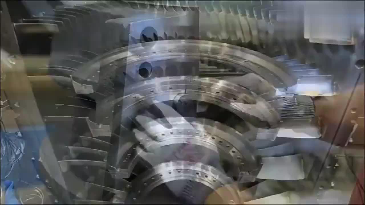 实拍德国超大型压缩机制造过程,网友:完美细节追求造就高质产品