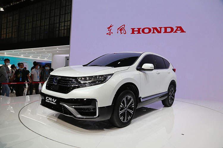 在华首次投放,纯电续航80km,本田CR-V插混版明年上市