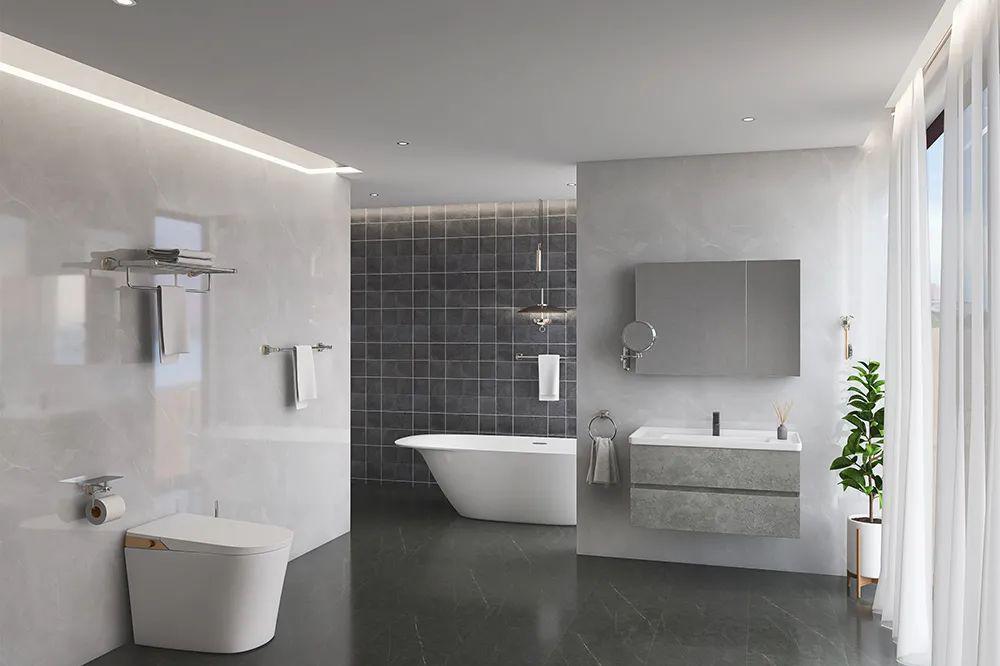 浴室挂件材质千千万,为什么高端挂件总爱选用铜材质?