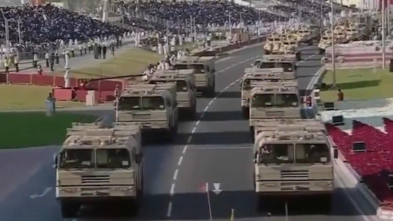 缅甸喜提中国SY-400制导火箭炮!