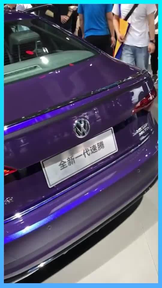 视频:新一代速腾,还有紫颜色可以选择哦!