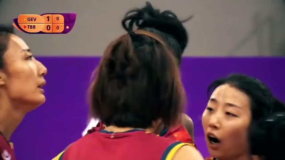 胡克尔!最大牌的洋天女么?代表天津女排参加世俱杯精彩回顾!