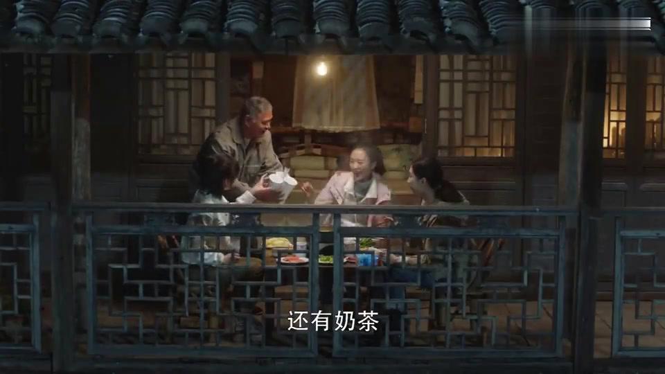 三十而已:顾佳王漫妮钟晓芹三姐妹齐聚茶山,陈屿也跟着来了
