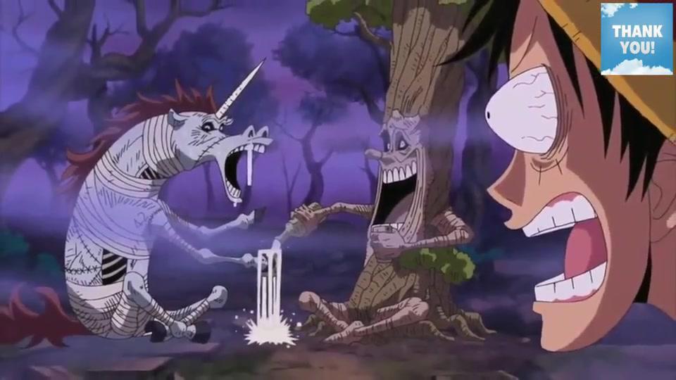 海贼王:遇上在喝酒的独角兽与树人,路飞想拉来当伙伴!