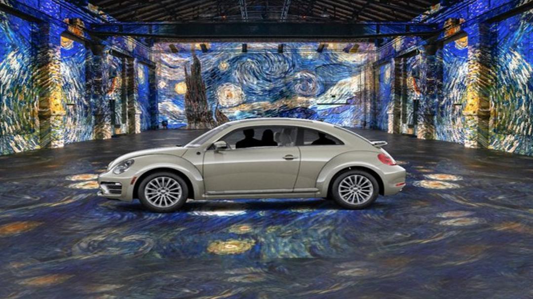 在车上就可观展!加拿大举办沉浸式梵高艺术展