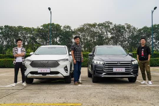 谁才是高颜值的智能SUV?2021款哈弗F7对比宋Pro
