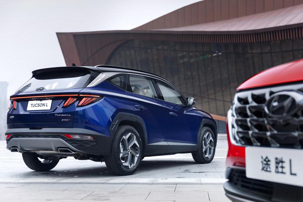 全新一代途胜L上市,4款车型售16.18万起
