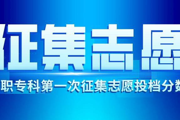 湖南省2020年普通高校招生高职专科批第一次征集志愿投档分数线