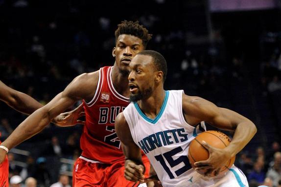 NBA:夏洛特黄蜂vs芝加哥公牛